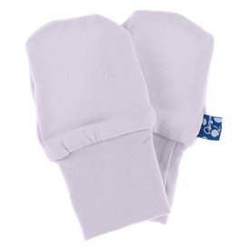 Kickee Pants Solid Newborn No-Scratch Paws Thistle with Natural
