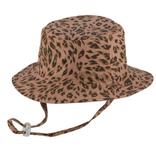 Millymook and Dozer Baby Girls Bucket Sun Hat - Chloe Leopard