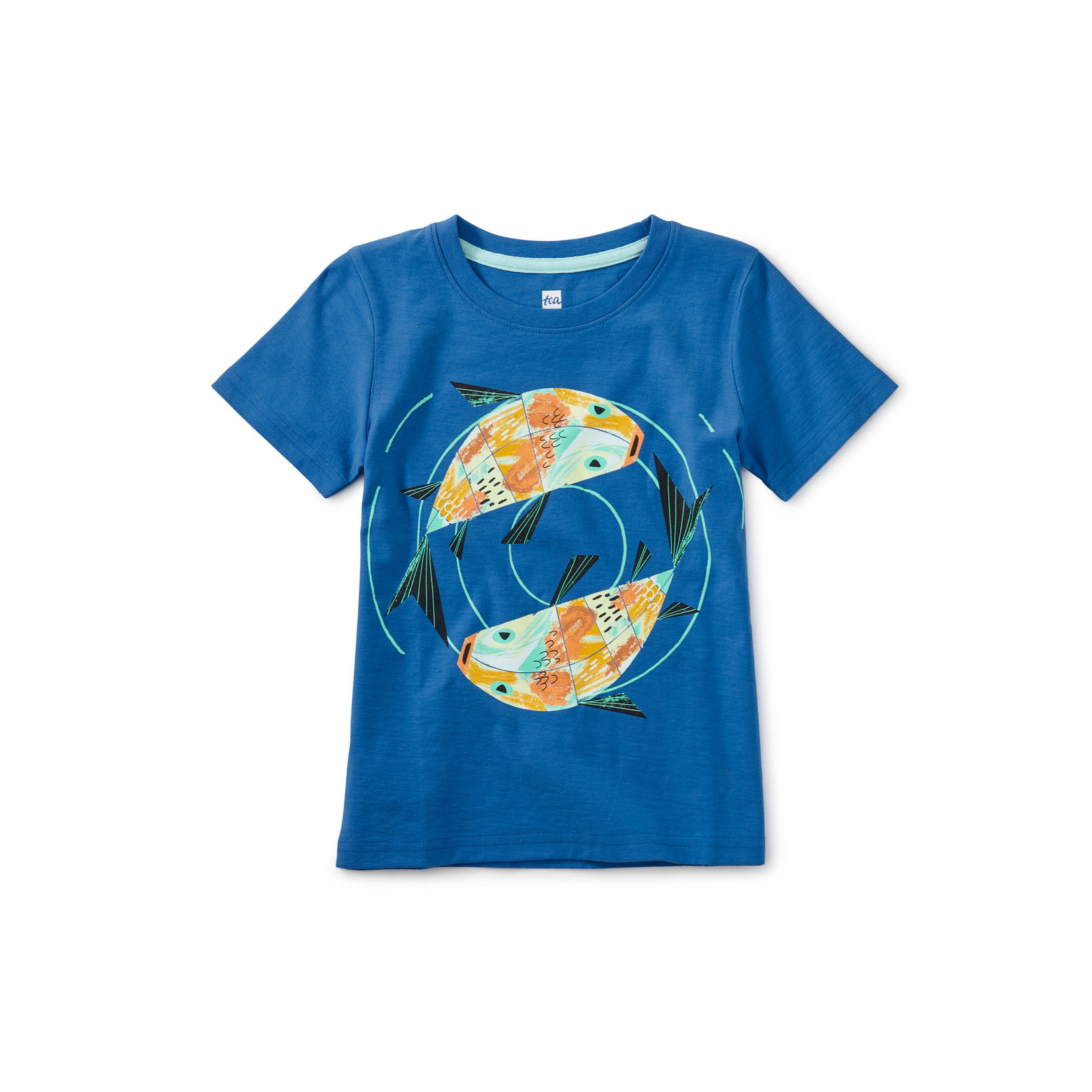 Tea Collection Friendly Fish Graphic Tee