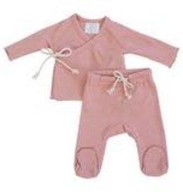 Mebie Baby Layette Set - Rose