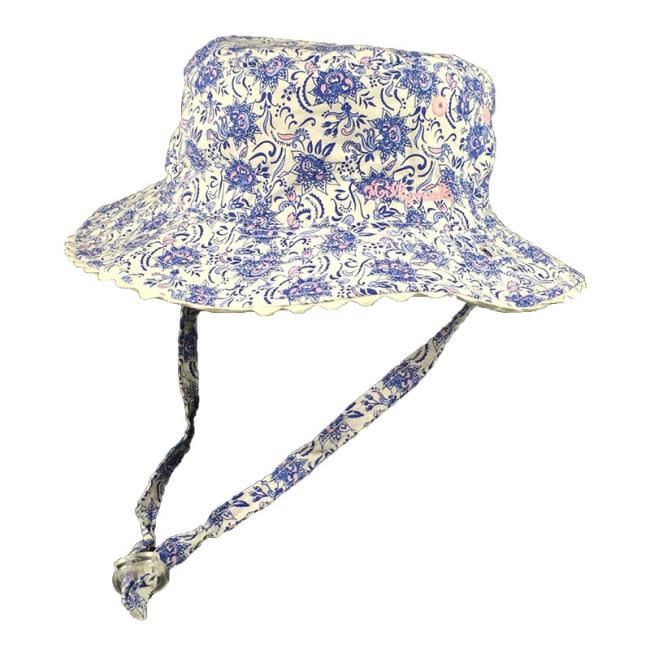 Millymook and Dozer Baby Girls Bucket Hat - Kaya Blue