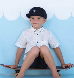 Millymook and Dozer Boys Trucker Sun Cap, Knox Black - OS