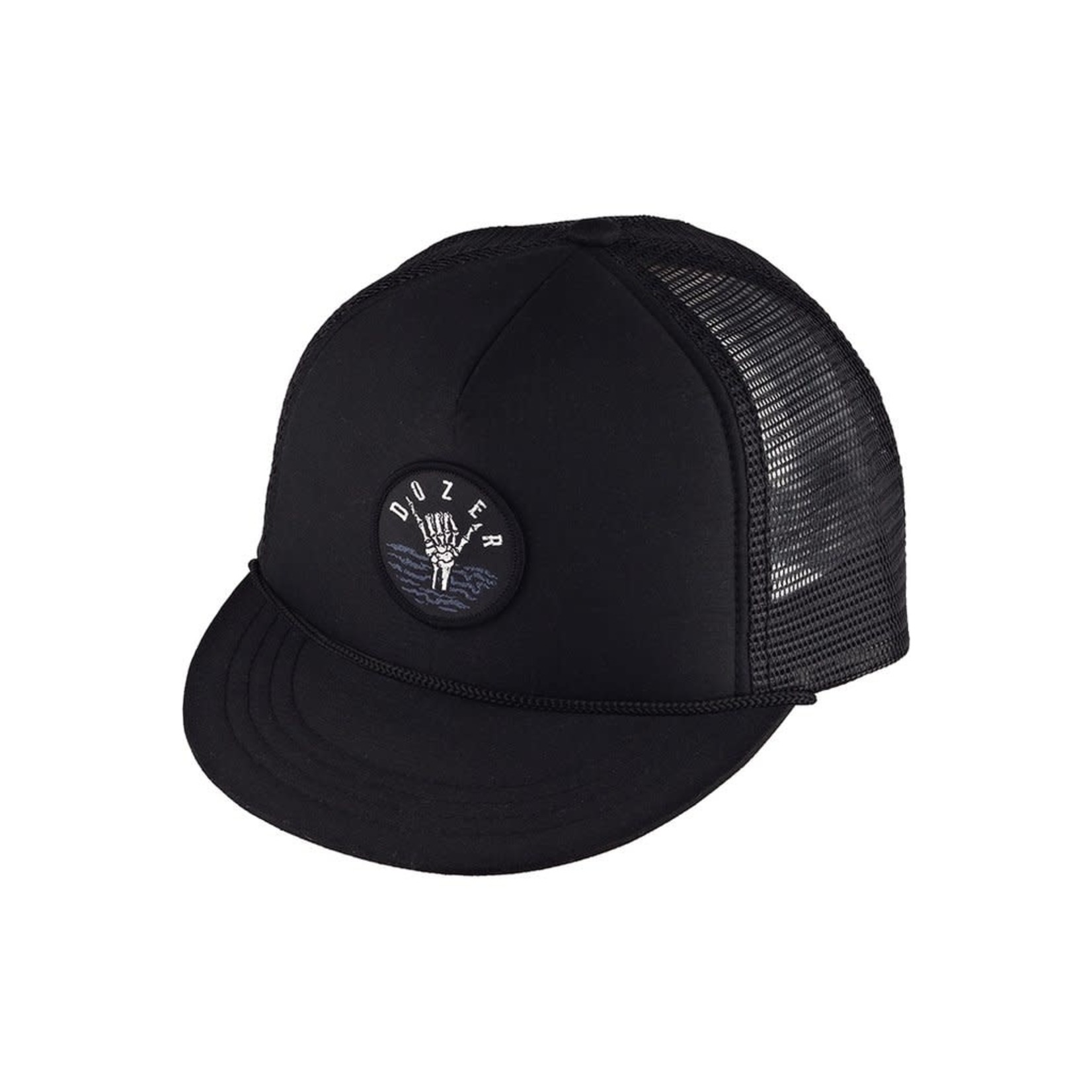 Millymook and Dozer Boys Trucker Sun Cap, Knox Black - OS