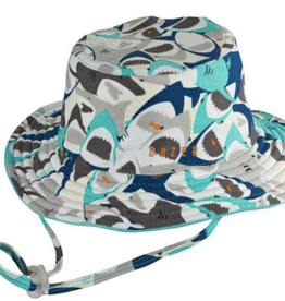 Millymook and Dozer Baby Boys Bucket Sun Hat - Chomp S (0-12m)
