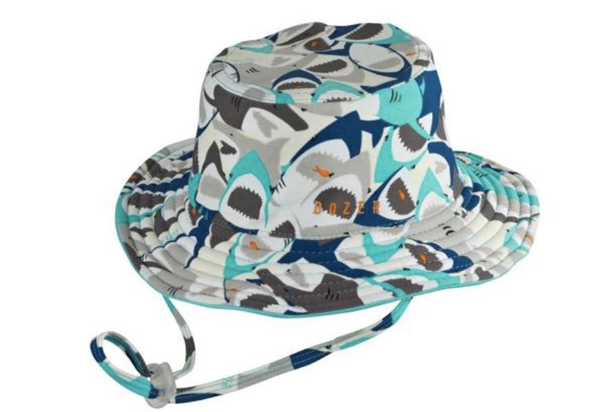 Millymook and Dozer Baby Boys Bucket Sun Hat - Chomp S (0-12m)