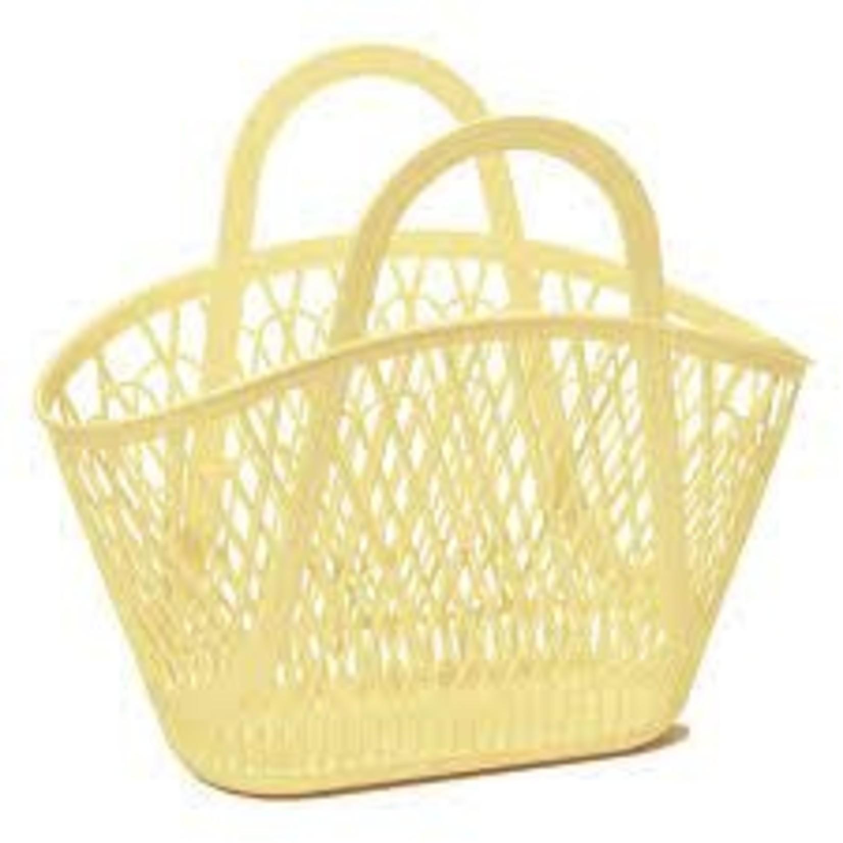 Sun Jellies Betty Basket - Yellow