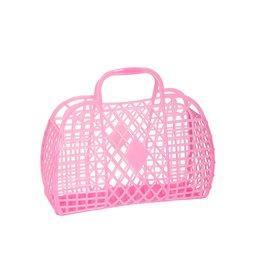 Sun Jellies Retro Basket - Mini Me Pink
