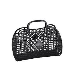 Sun Jellies Retro Basket - Mini Me Black