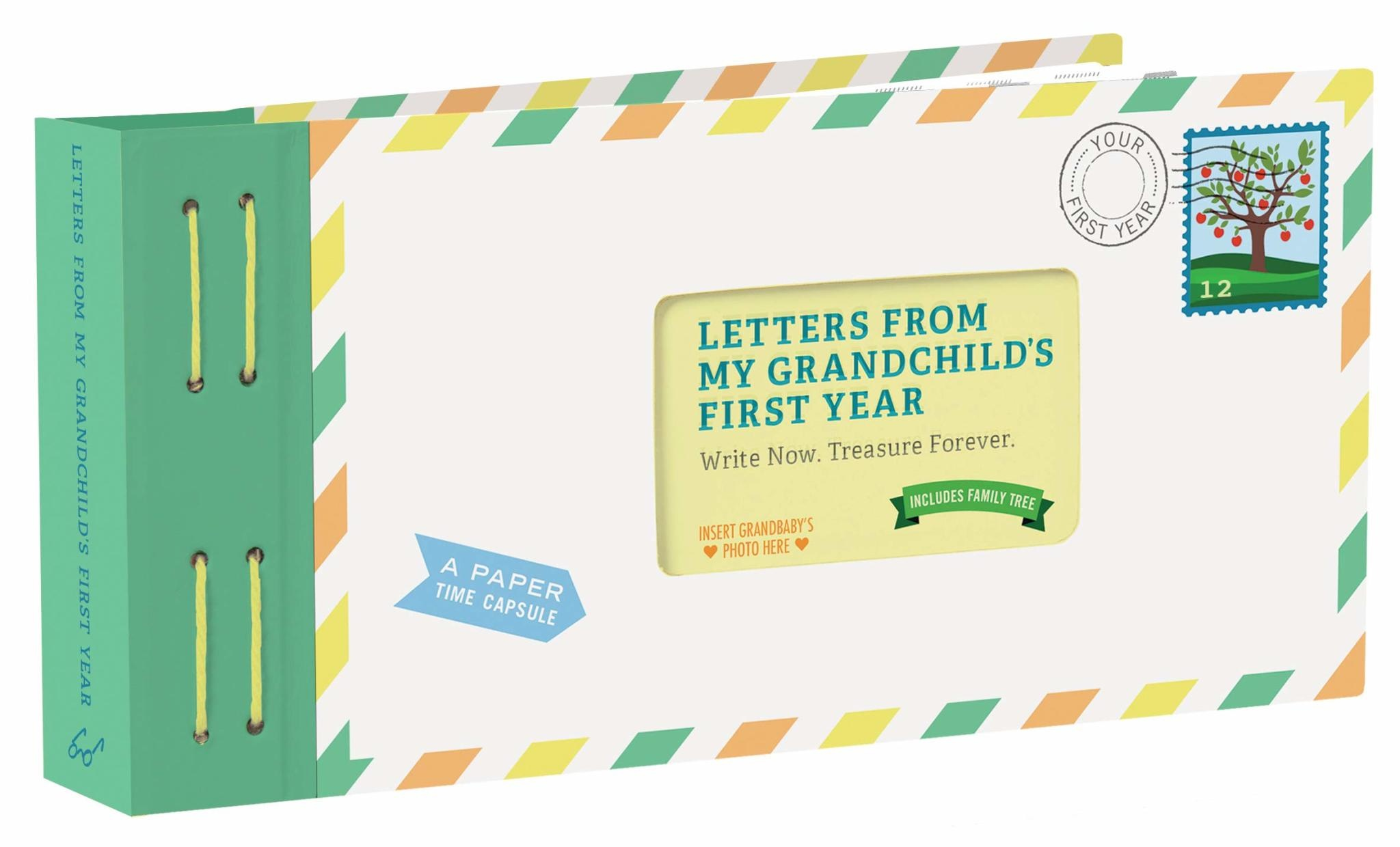 Chronicle Books Letters from My Grandchild's First Year