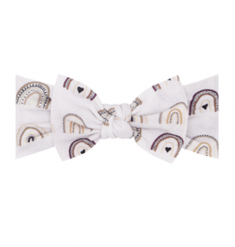 Baby Bling Bows Printed Knot - Unity Rainbow