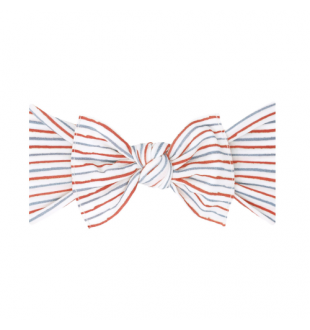 Baby Bling Bows Printed Knot - Americana Stripe