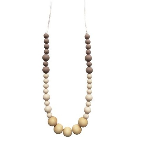 Chewable Charm Teething Necklace - The Adri