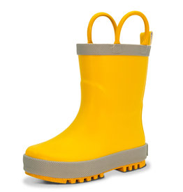 Jan & Jul Rain Boot Yellow Size 10