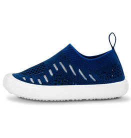 Jan & Jul Kids Breeze Knit Shoe Navy 9.5
