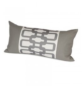 Oilo Studio Link Pillow, Stone