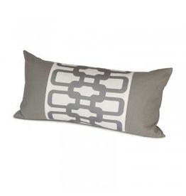 Oilo Studio Link Pillow, Stone