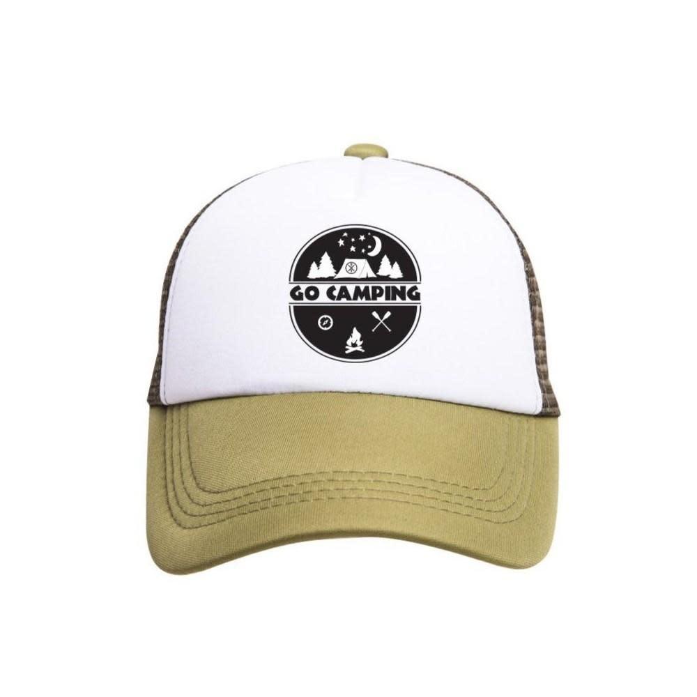 Tiny Trucker Co. Go Camping Trucker Hat - Toddler