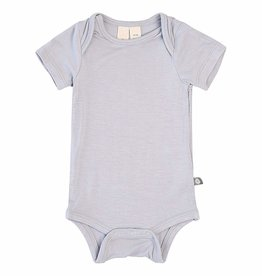Kyte Baby Short Sleeve Bodysuit in Storm