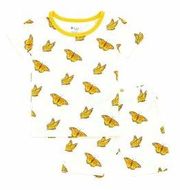 Kyte Baby Short Sleeve Pajama Set in Monarch
