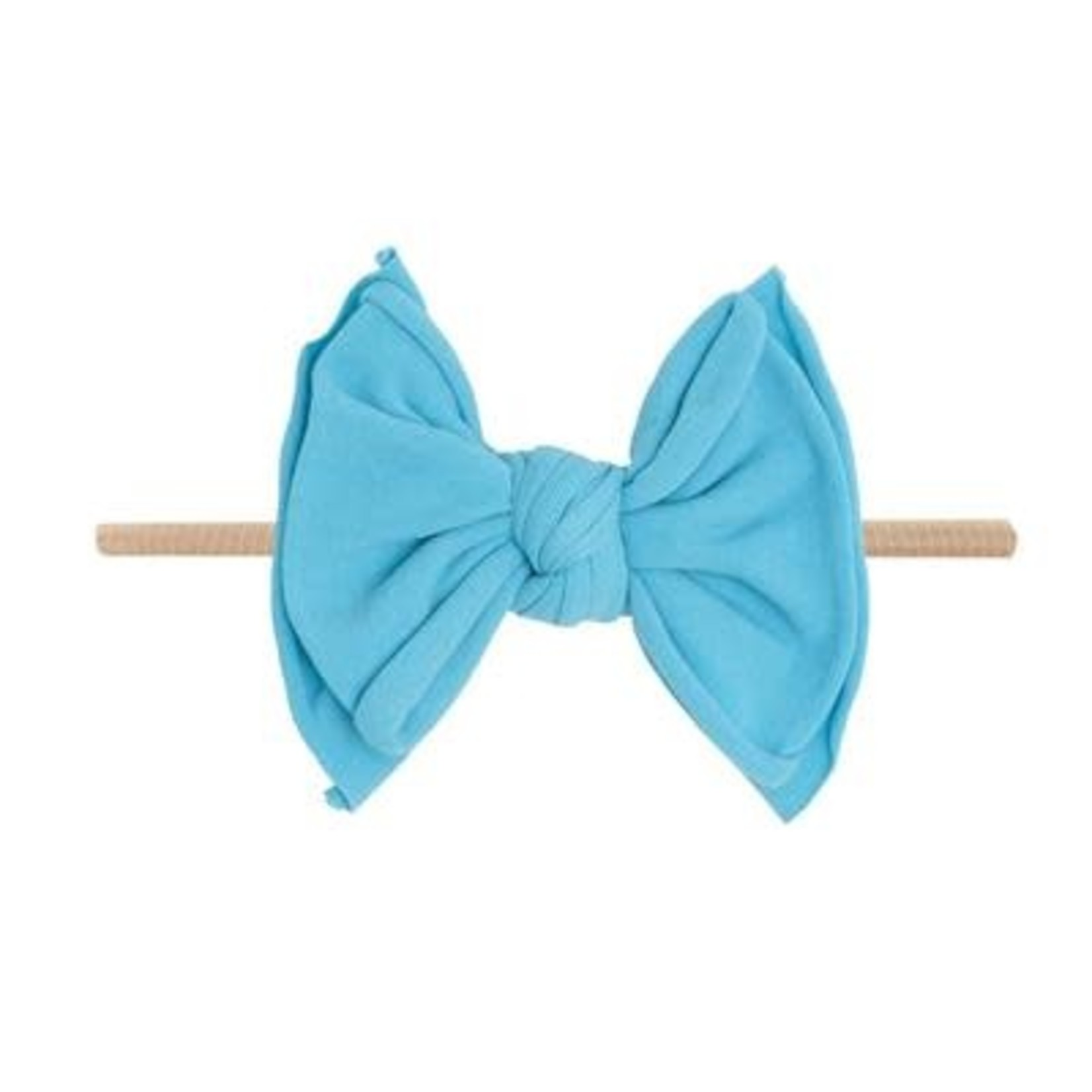 Baby Bling Bows FAB-BOW-LOUS Skinny:  Neon Blue
