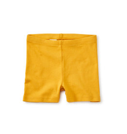 Tea Collection Solid Somersault Shorts - Gold