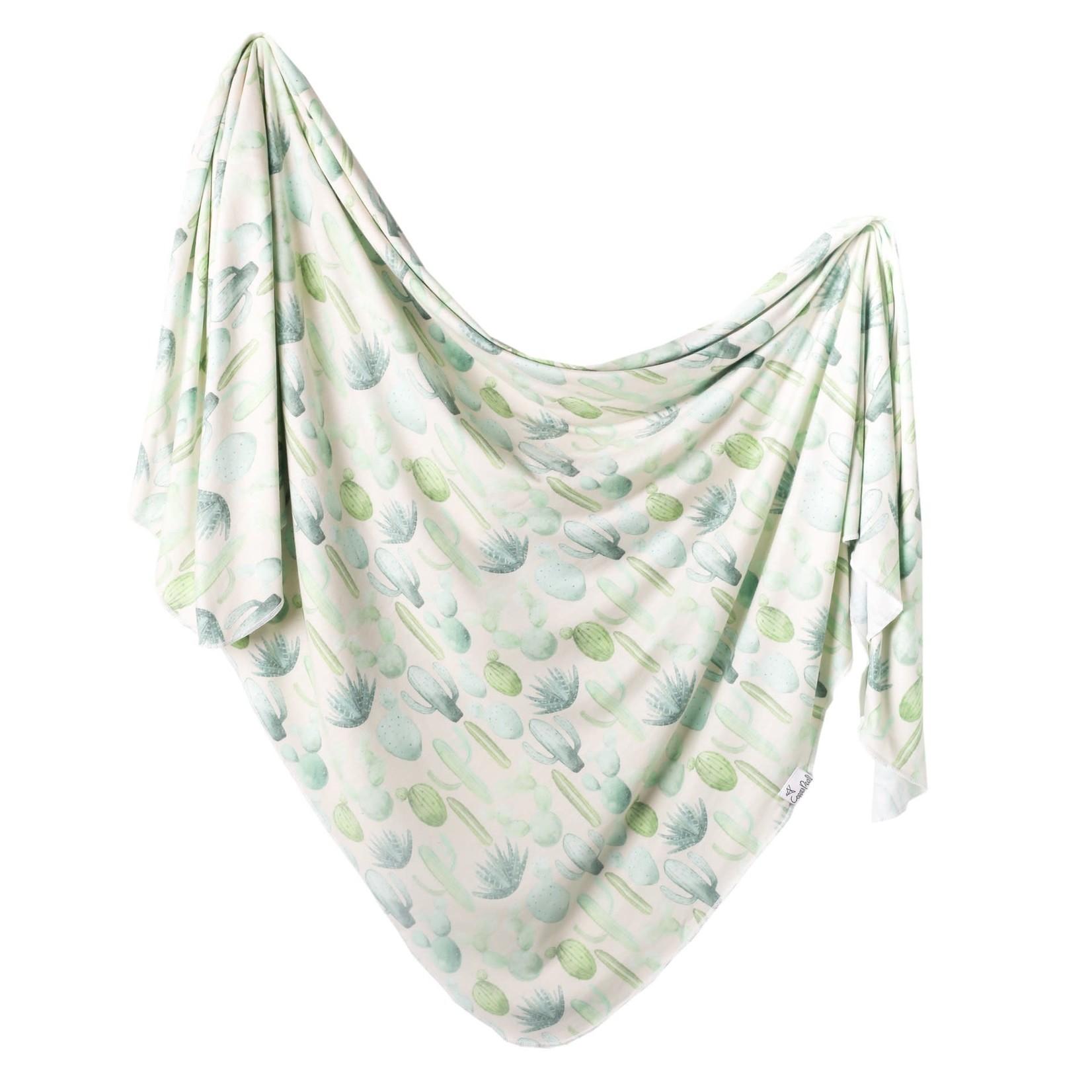 Copper Pearl Knit Blanket - Desert