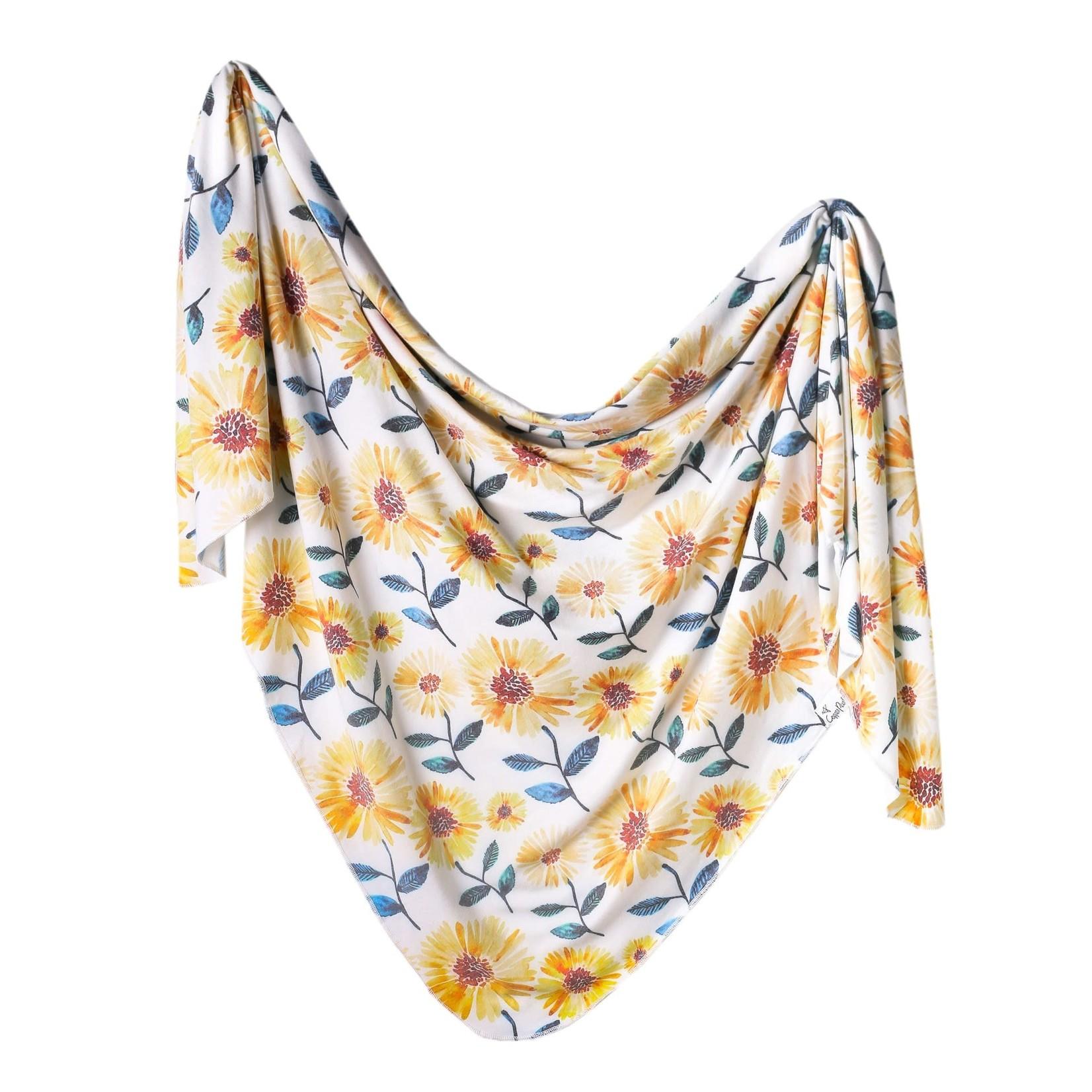Copper Pearl Knit Blanket - Sunnie