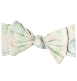 Copper Pearl Knit Headband - Desert