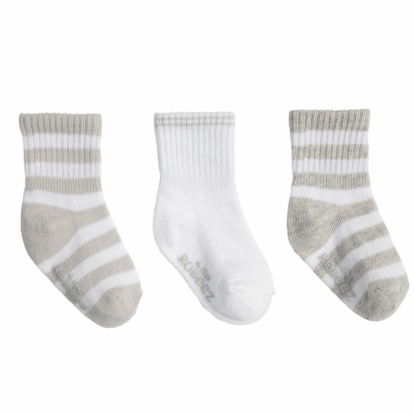 Robeez 3 Pk Socks, Daily Devin