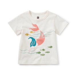 Tea Collection Diving Mermaid Baby Graphic Tee