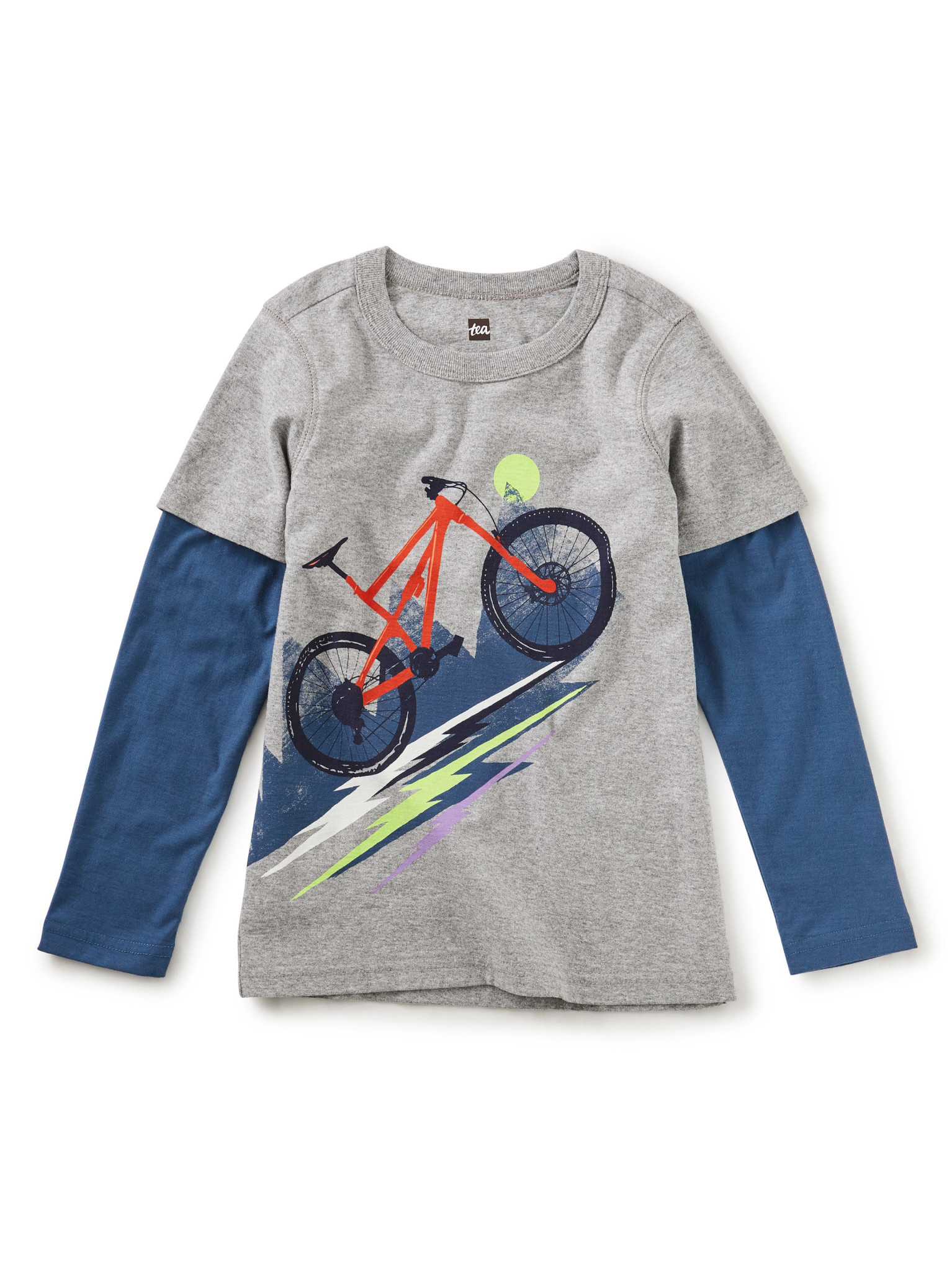 Tea Collection Bike Brigade Graphic Tee - Grout