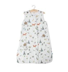 Little Unicorn Cotton Muslin Sleep Bag Small - Forest Friends