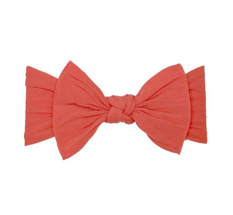 Baby Bling Bows Knot - Salmon