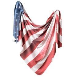 Copper Pearl Knit Blanket - Patriot