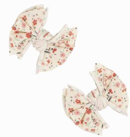 Baby Bling Bows 2pk Printed Baby Fab Clips: Bonnet