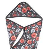 Copper Pearl Knit Hooded Towel - Poppy