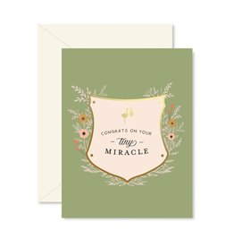 Ginger P. Designs Tiny Miracle Greeting Card
