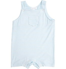 Angel Dear Puppy Play Overall Shortie Blue