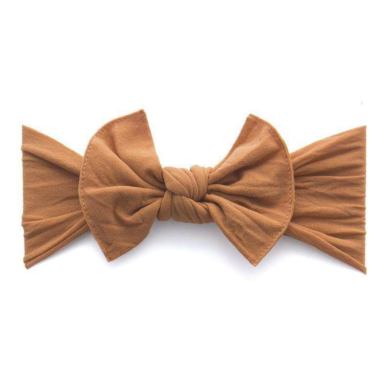 Baby Bling Bows Knot - Camel