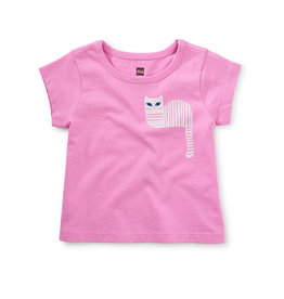 Tea Collection Cat & Mouse Double-Sided Tee