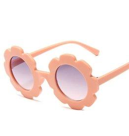 Miss Mimi Flower Power Sunglasses Blush