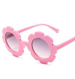 Miss Mimi Flower Power Sunglasses Pink