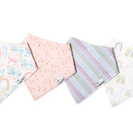 Copper Pearl Bibs - New Whimsy Set - 4 pack