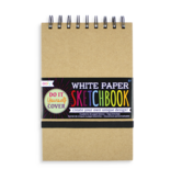 """Ooly D.I.Y. Sketchbook - Small White Paper (5""""x7.5"""")"""