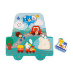 Janod Musical Puzzle - Little Racer