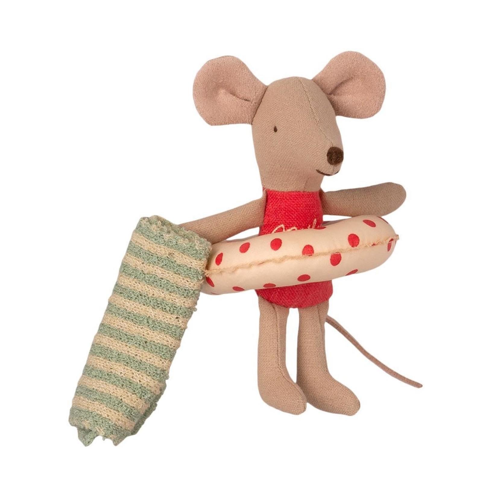 Maileg Beach mice, Little sister in Cabin de Plage