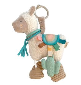 Itzy Ritzy Link & Love Llama Activity Plush Silicone Teether Toy