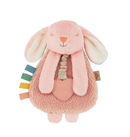 Itzy Ritzy Itzy Lovey Bunny Plush with Silicone Teether Toy