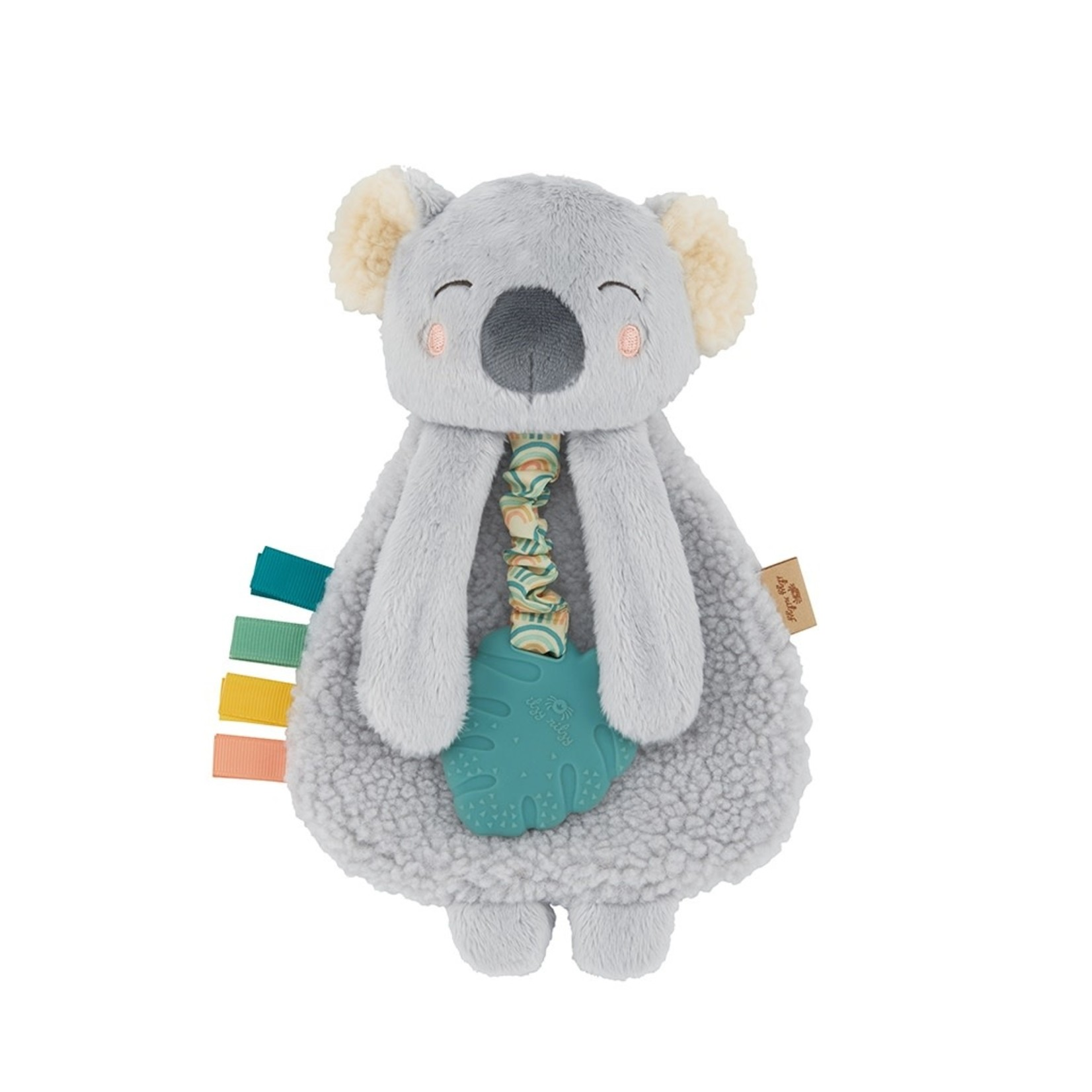 Itzy Ritzy Itzy Lovey Koala Plush with Silicone Teether Toy