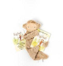 Slumberkins Maple Bigfoot Snuggler Bundle